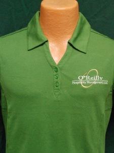 O'Reilly Polo Shirt Embroidery Springfield, MO