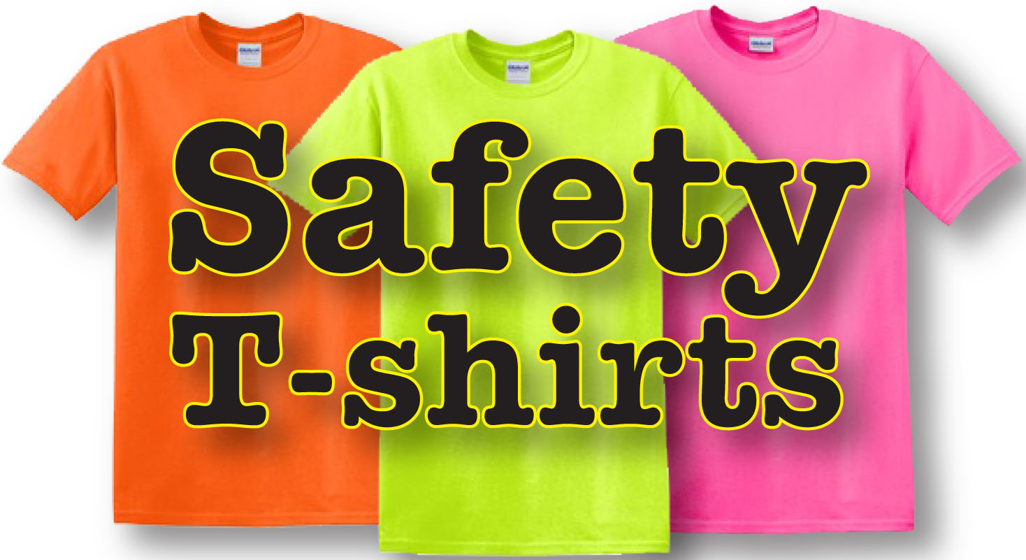 Safety t shirts greek corner printing for Shirt printing springfield mo