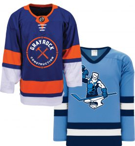 Custom Printed Hockey Jerseys