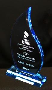 BBB Award Tyler 2